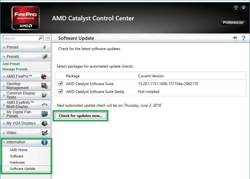Amd Software Update